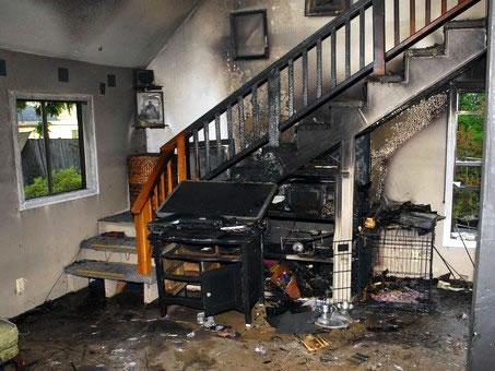 It Is Not Recommended For A Homeowner To Try Re The Affected Areas Themselves Since Fire Damage Needs Qualified And Proper Expert Services